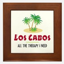 Los Cabos Therapy - Framed Tile