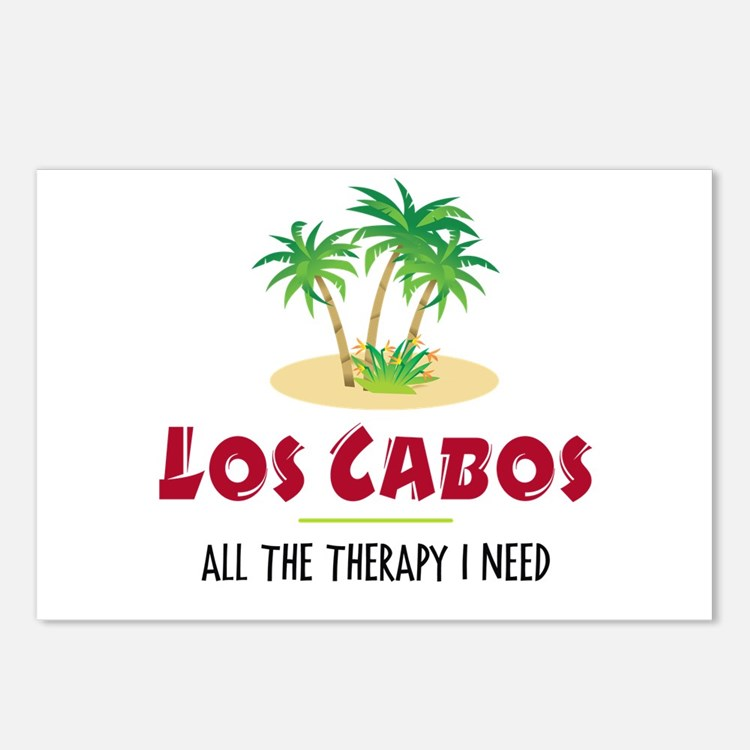 Los Cabos Therapy - Postcards (Package of 8)