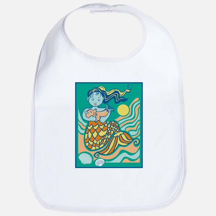 Sweet Mama Mermaid Bib