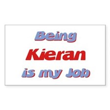 Being Kieran Is My Job Rectangle Decal