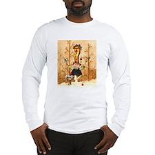 Here Birdy Snowman Long Sleeve T-Shirt