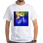 ALIEN LAND RIDE - ART White T-Shirt