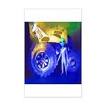 ALIEN LAND RIDE - ART Mini Poster Print