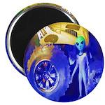 ALIEN LAND RIDE - ART Magnet