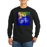 ALIEN LAND RIDE - ART Long Sleeve Dark T-Shirt