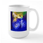ALIEN LAND RIDE - ART Large Mug