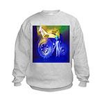 ALIEN LAND RIDE - ART Kids Sweatshirt