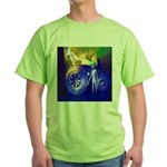 ALIEN LAND RIDE - ART Green T-Shirt