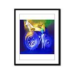 ALIEN LAND RIDE - ART Framed Panel Print
