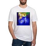 ALIEN LAND RIDE - ART Fitted T-Shirt