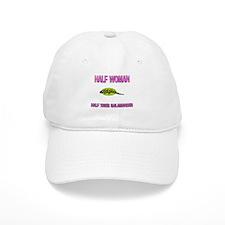 Half Woman Half Tiger Salamander Baseball Cap