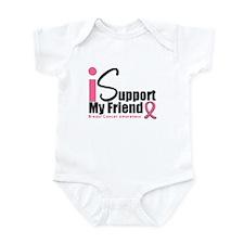 Breast Cancer Support Infant Bodysuit