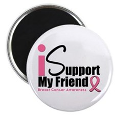 "Breast Cancer Support 2.25"" Magnet (10 pack)"