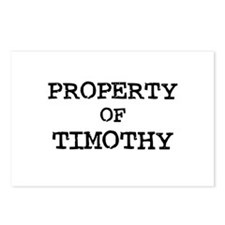 Property of Timothy Postcards (Package of 8)