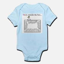 Think outside the box Infant Creeper