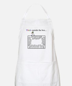 Think outside the box BBQ Apron