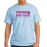Beer Pong Princess Light T-Shirt