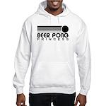 Beer Pong Princess Hooded Sweatshirt
