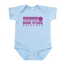 Beer Pong Princess Infant Bodysuit
