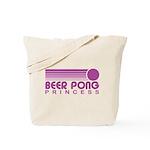 Beer Pong Princess Tote Bag