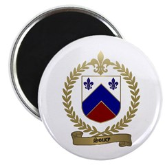SOUCY Family Crest Magnet