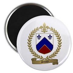 SOUCY Family Crest Magnet