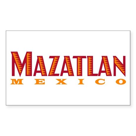 Mazatlan Mexico - Rectangle Sticker