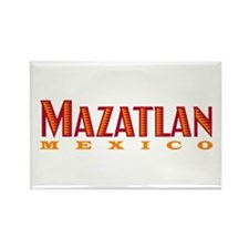 Mazatlan Mexico - Rectangle Magnet