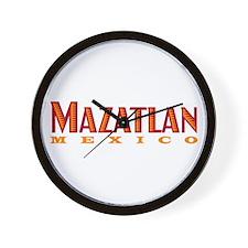Mazatlan Mexico - Wall Clock