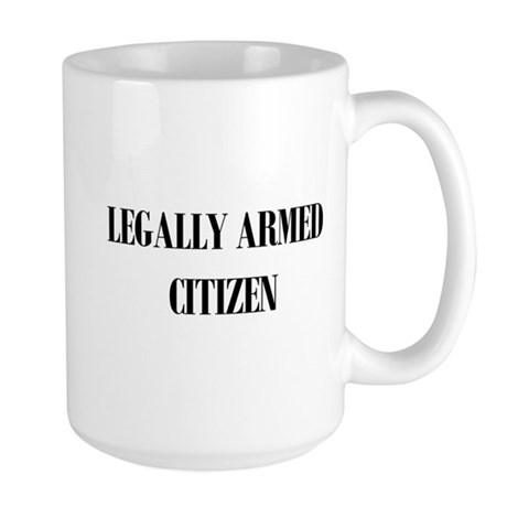 Legally Armed Large Mug