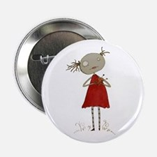 """Voodoo Girl 2.25"""" Button (10 pack)"""