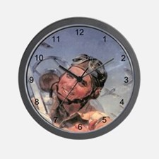 Early Aviator Wall Clock