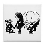 Gillian and Friends Tile Coaster