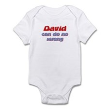David Can Do No Wrong Infant Bodysuit