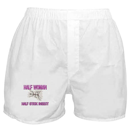 Half Woman Half Stick Insect Boxer Shorts