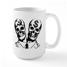 Communist & Capitalist Skulls Mug
