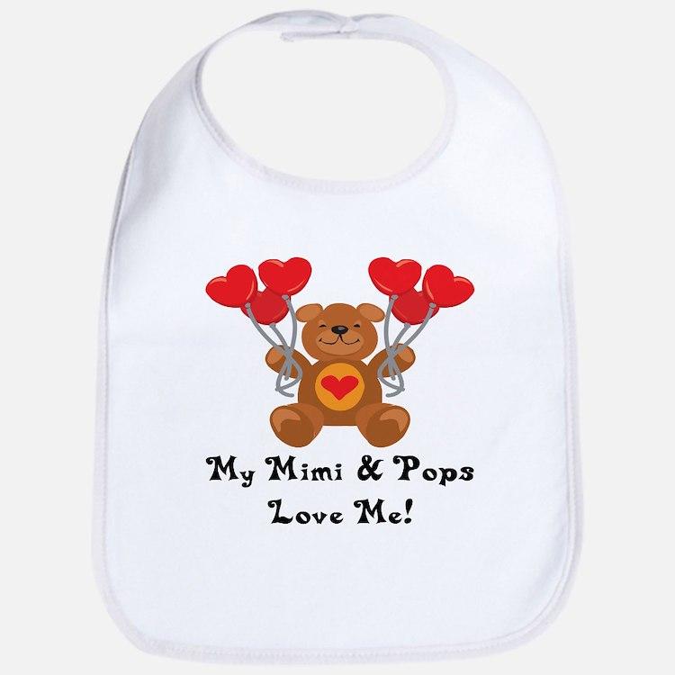 Mimi & Pops Love Me Bib
