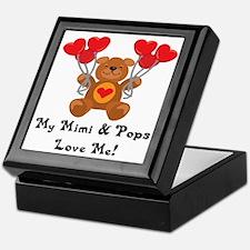 Mimi & Pops Love Me Keepsake Box