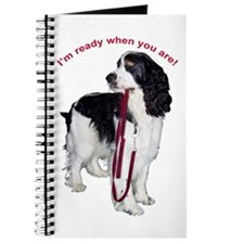 Cute Springer spaniel Journal