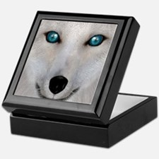 Arctic Fox Keepsake Box