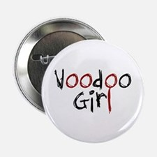 """Voodoo Girl 2.25"""" Button (100 pack)"""