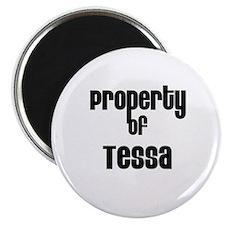 Property of Tessa Magnet