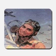 Early Aviator Mousepad