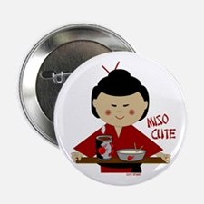 "Miso Cute 2.25"" Button"
