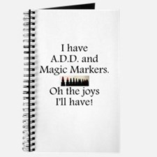 Magic Markers Journal