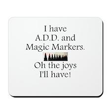 Magic Markers Mousepad