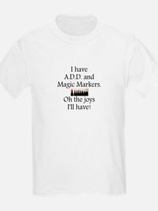 Magic Markers T-Shirt