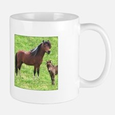 Mini Pinto Stallion & Daughter Mug