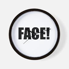 FACE! Wall Clock