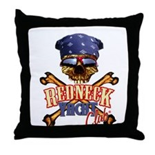 Pirate DoRag Shades Throw Pillow